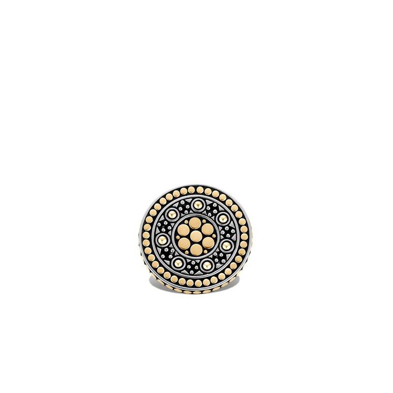 John Hardy Coin Ring Size 6