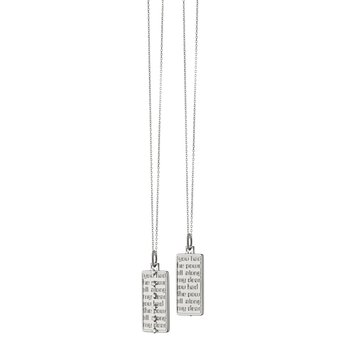 """Medallion Necklace Length 16"""" with a loop at 17""""& 18"""""""
