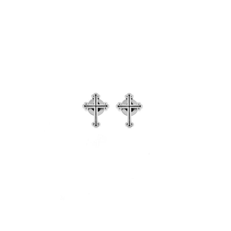 KING BABY Cross Earrings