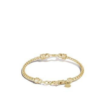 Slim Chain Heart Bracelet Size Medium
