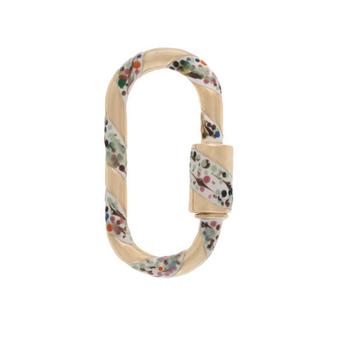 Medium Lock Pendant