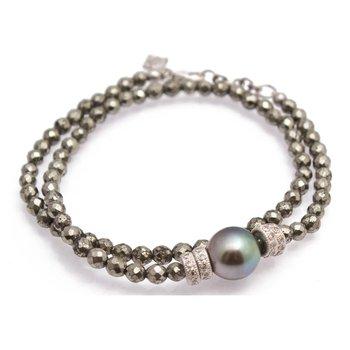 """Double Wrap Bracelet Lenght 14"""""""