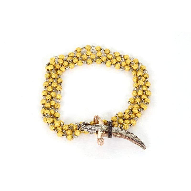 Sevan Bicakci Rosary Dagger Necklace