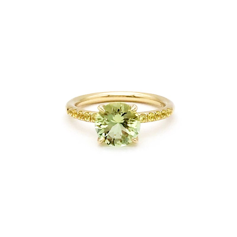 Jane Taylor Solitarie Ring Size 6.5
