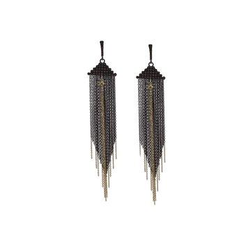 Multi-Chain Chandelier Earrings