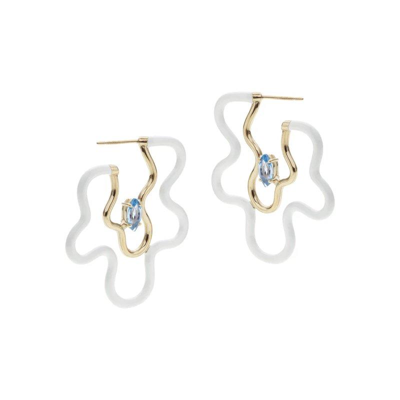 Bea Bongiasca Hoop Earrings