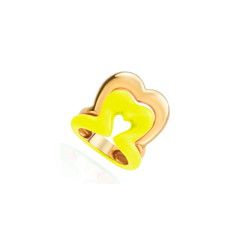 Heart Ring Size 6 1/2