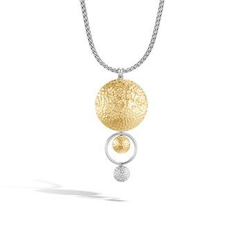 Dot Hammered Necklace