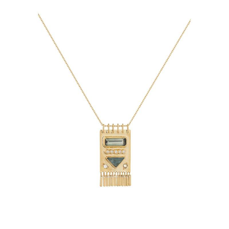 """Celine Daoust  One Of Kind Totem Necklace Lenght 18"""""""