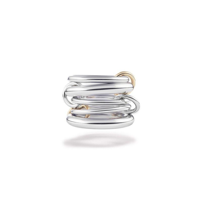 Spinelli Kilcollin Five Links Ring Size 7