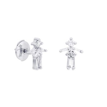 Single Girl Stud Earring