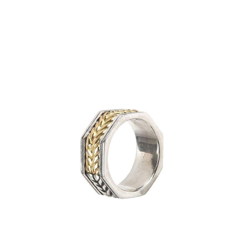 Konstantino Band Ring Size 10