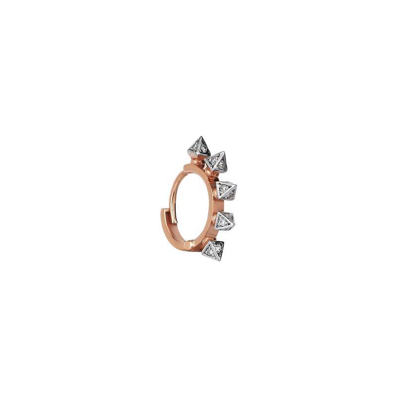 Kismet by Milka Small Single Hoop Earring