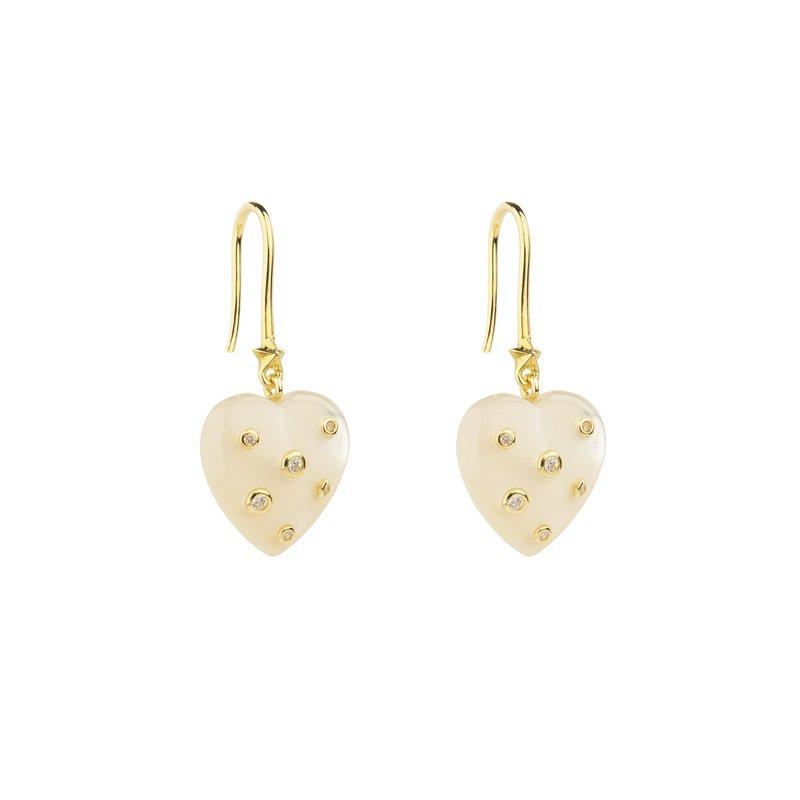 Eshvi Hearth Drop Earrings