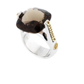 Solitary Medium Ring Size 8