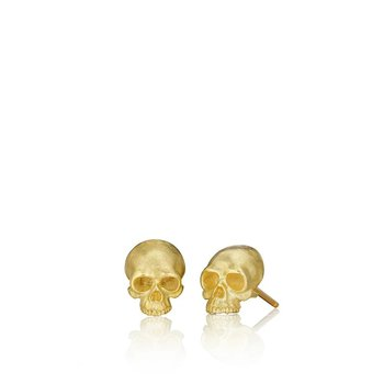 Tiny Skull Stud Earrings