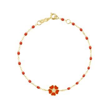"""Flower Bracelet Length 6.7"""""""