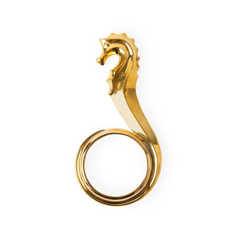 JONATHAN ADLER Seahorse Magnifiying Glass