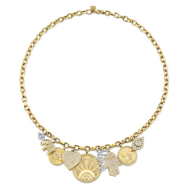 Sydney Evan Charm Necklace