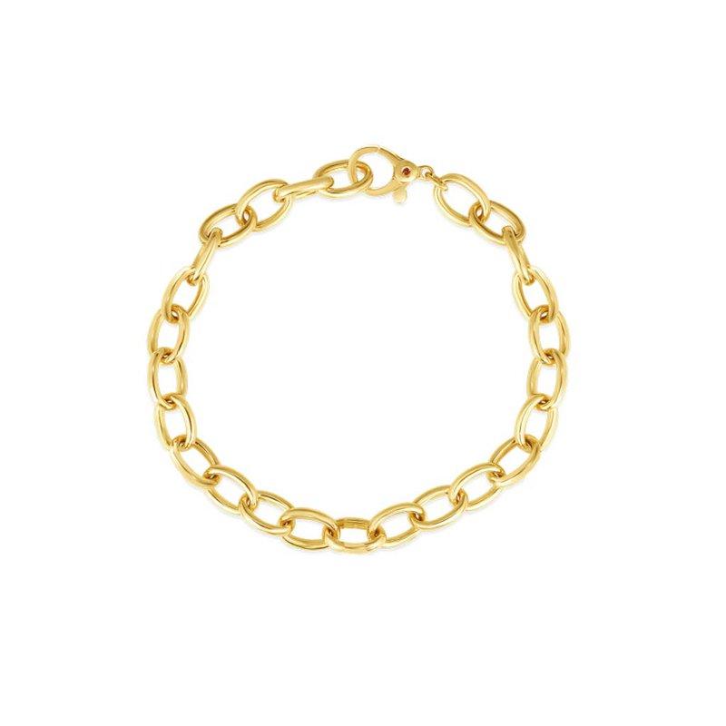 "Roberto Coin Link Bracelet Length 7"""
