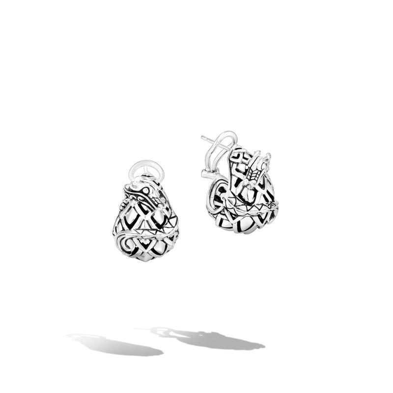 John Hardy Buddha Belly Earrings