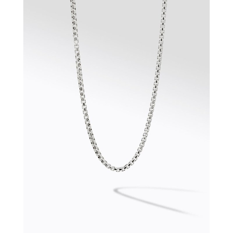 "Konstantino Box Chain Necklace 20"""" Length"