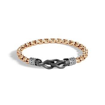 Men's Hook Clasp Bracelet Size Medium