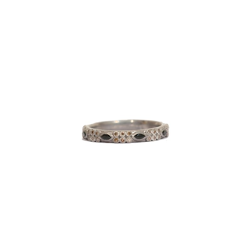 Armenta Stack Ring Size 7 Wide 1mm