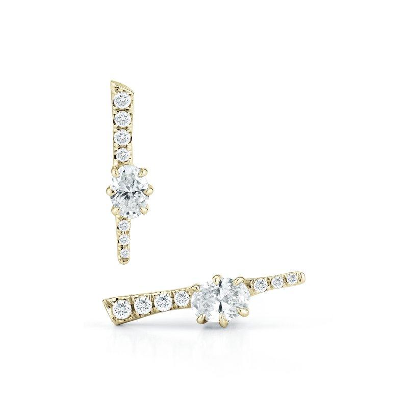 Jade Trau Rae Stud Earrings