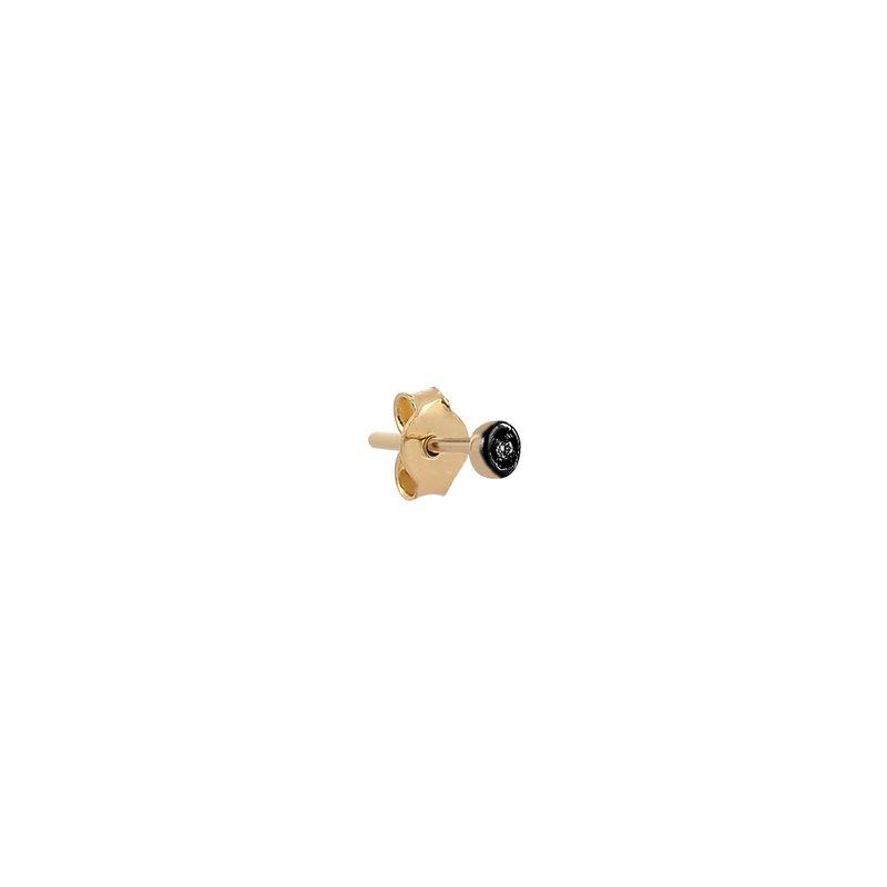 Kismet by Milka Mini Circle Single Stud Earring