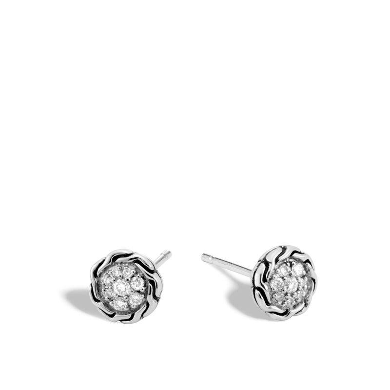 John Hardy Stud Earrings Size 7mm