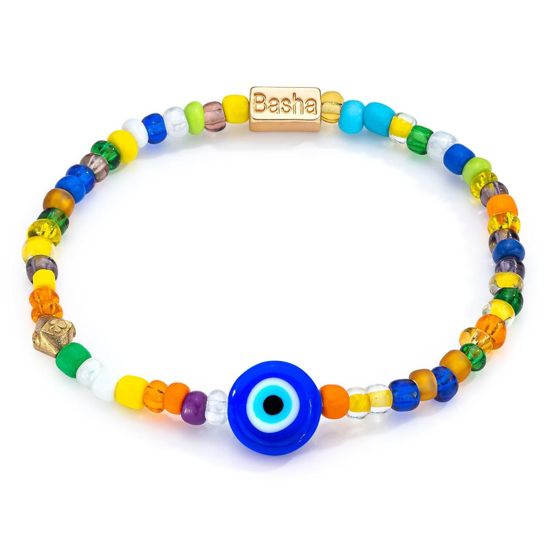 Aaron Basha Men Bead Bracelet