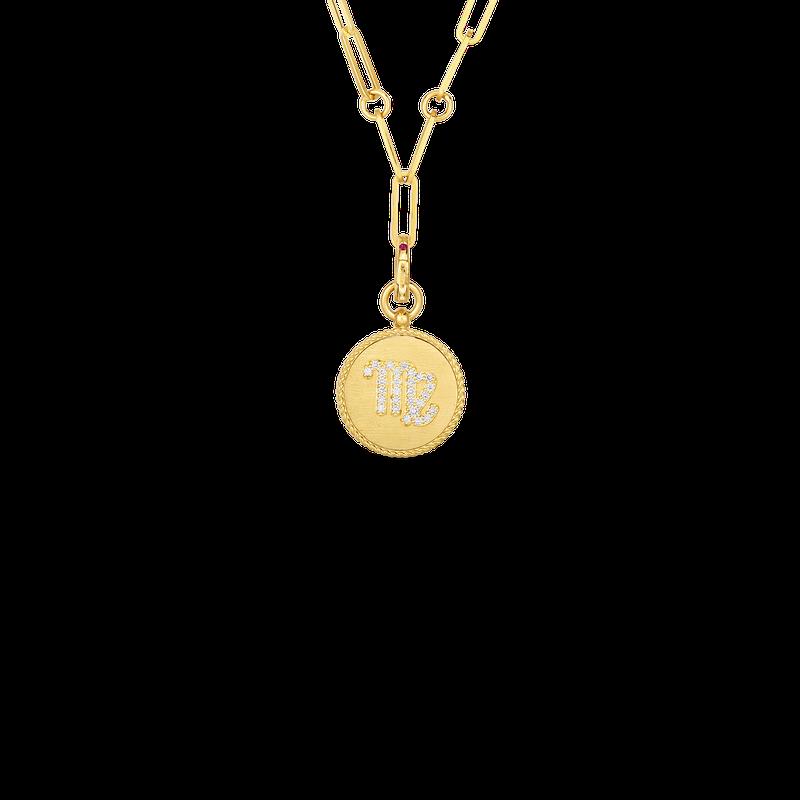 """Roberto Coin Zodiac Necklace Length 19"""""""