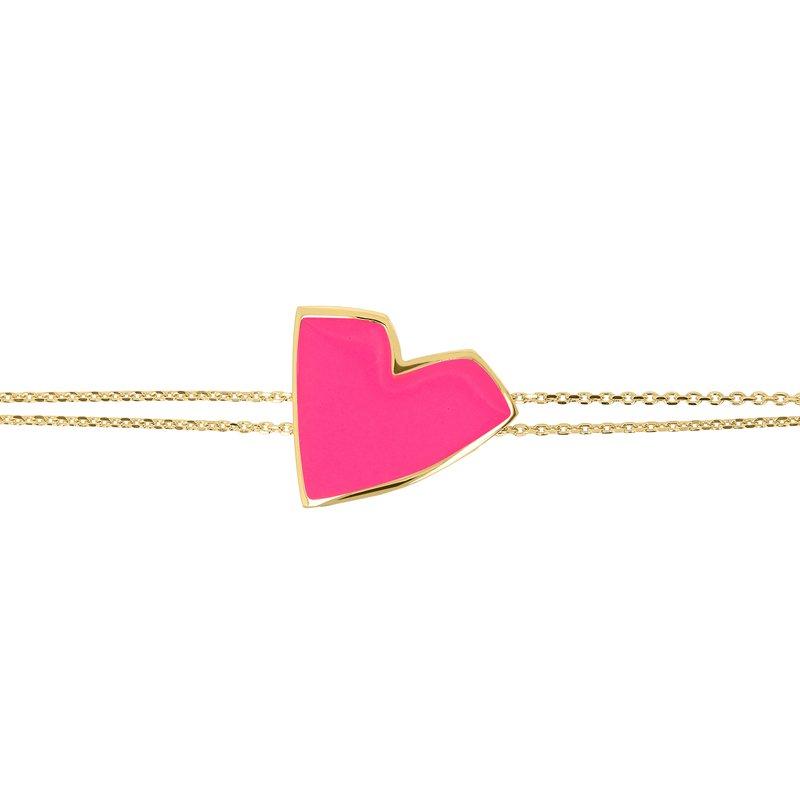 Netali Nissim Big Heart Bracelet