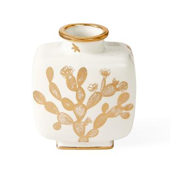 Botanist Cactus Square Vase