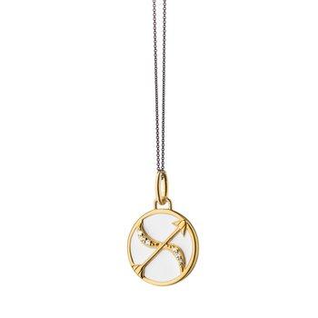 """Mini Sagittarius Cham Necklace 17"""" Length"""