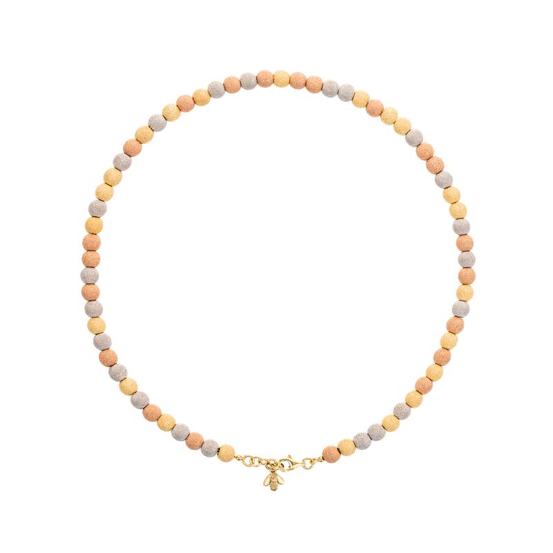 "Carolina Bucci Sparkly Beads Necklace Length 27.5"""