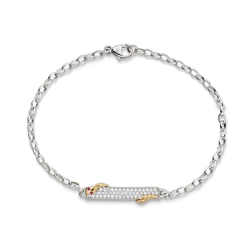 Monica Rich Kosann Snake Bracelet