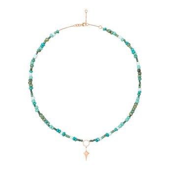 Mini Shield Tag Necklace