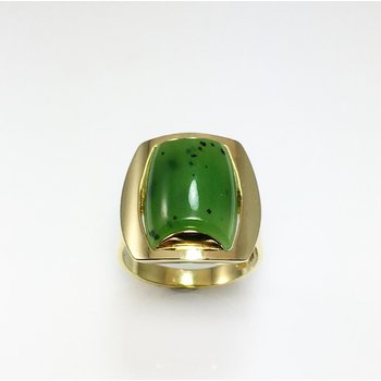 Lady's Nephrite Jade Ring