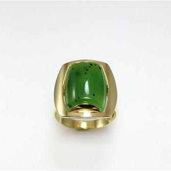 Lady's Nephrite Jade Ring