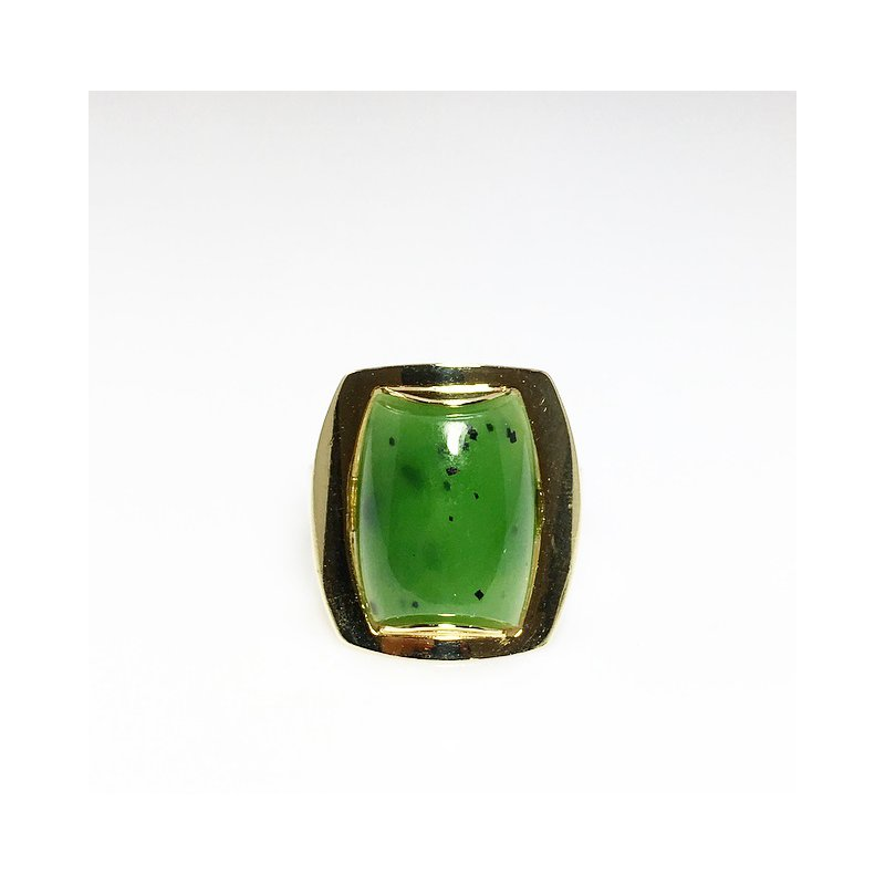 VandenDool Estate Jewellery Lady's Nephrite Jade Ring