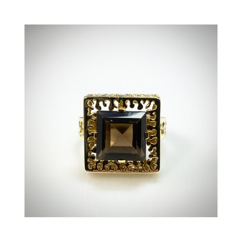VandenDool Estate Jewellery Lady's Smokey Quartz Ring