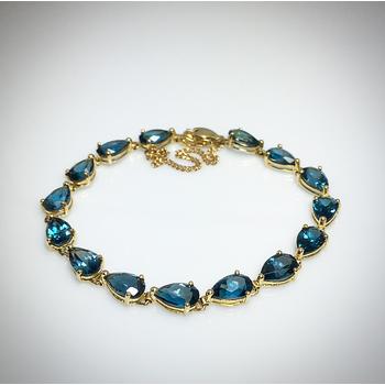 Lady's Blue Topaz bracelet