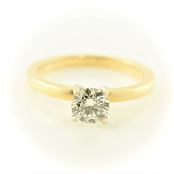 0.60CT Solitaire Engagement Ring