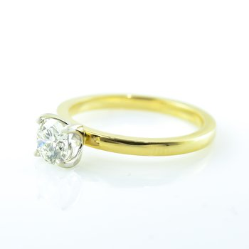 0.60CT Custom Solitaire Engagement Ring