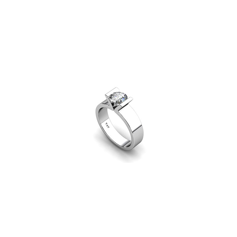 T & T Jewellers Solitaire Engagement Ring