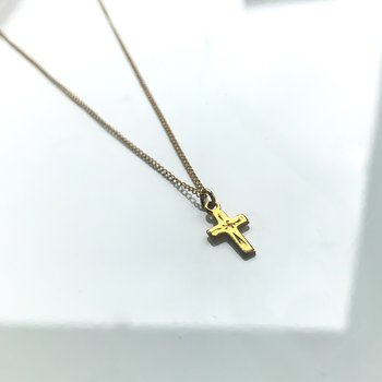 Gold Filled Cross Necklace