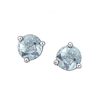 Aquamarine Birthstone Earrings