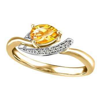 Forever Ice™ Citrine Ring